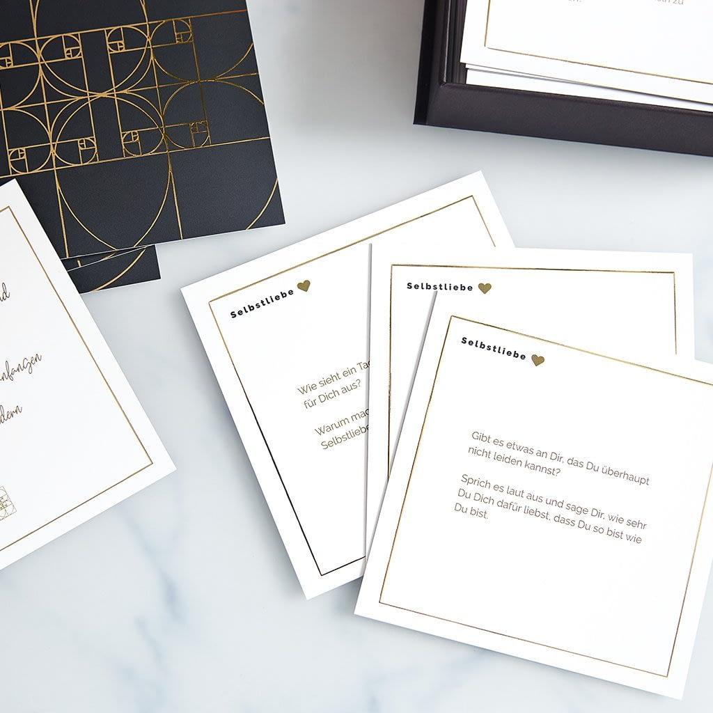 Auszüge aus dem Kartenset, Produktbeispiele der Karten